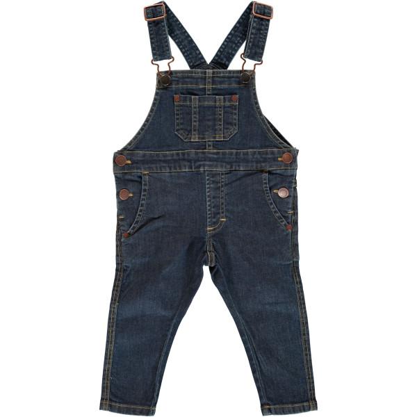 Maxomorra Latzhose Jeans Medium Dark Wash