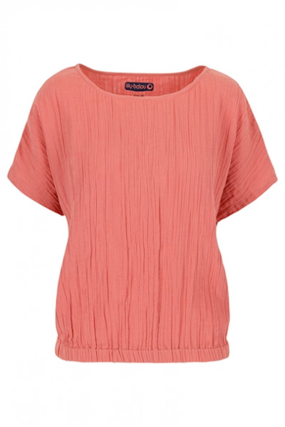 Lily Balou Top Musselin Crabapple