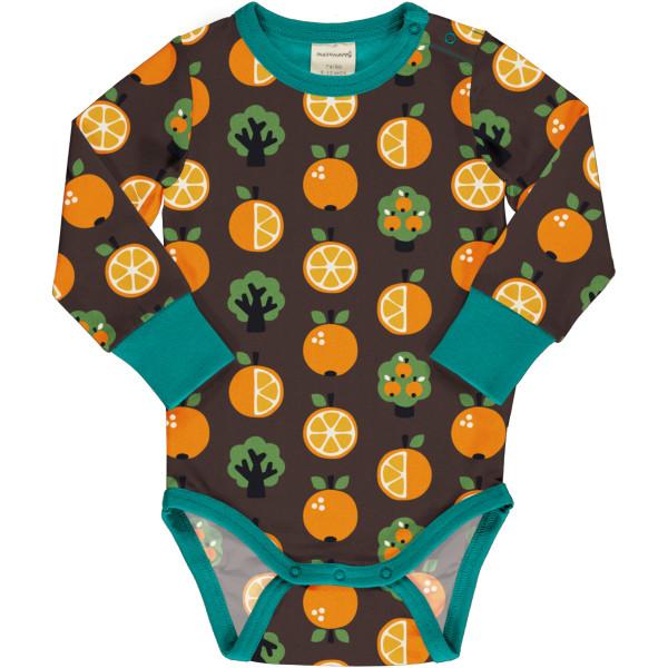 Maxomorra Body Langarm Orange