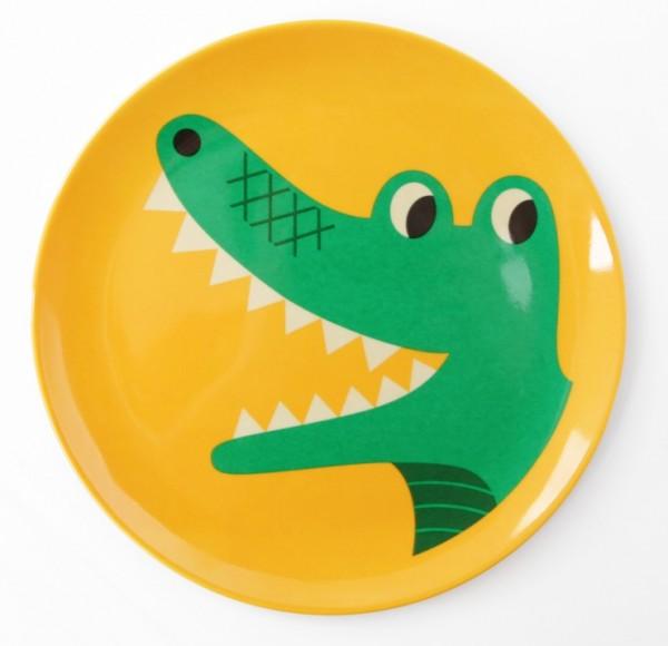 ommdesign teller krokodil jaettefint