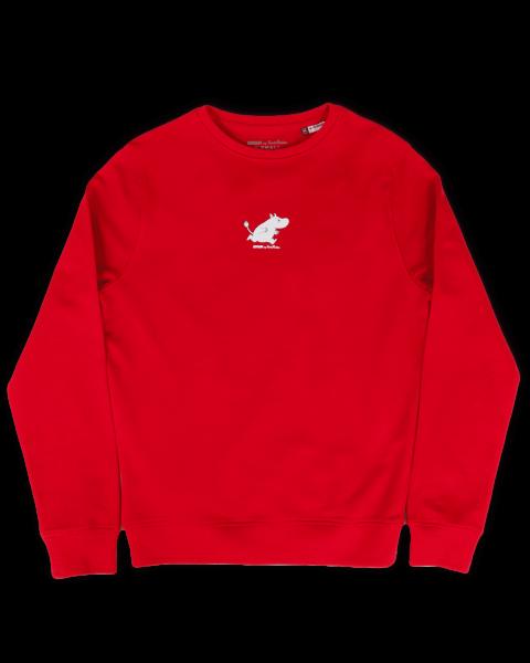 Nordic Buddies Erwachsene Sweat Shirt langarm MUMIN rot