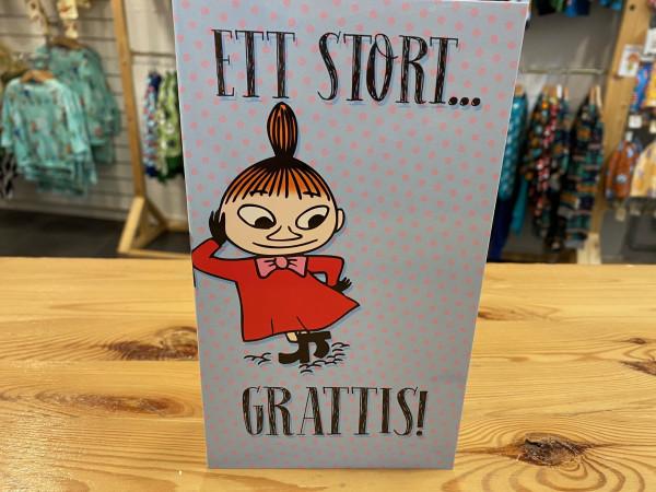 Karto - Muminkarte Kleine My Herzlichen Glückwunsch