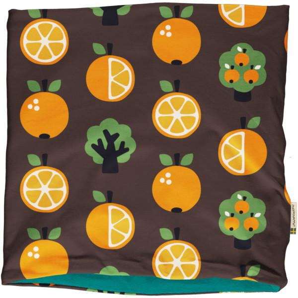 Maxomorra Loop Schal Velour Orange