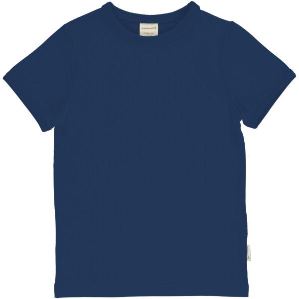 Maxomorra T-Shirt Kurzarm Navy
