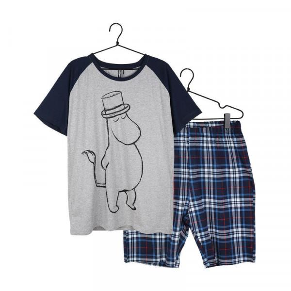 Martinex Mumin Kurzarm Pyjama Herren