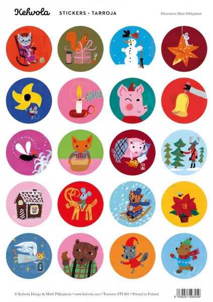 Kehvola Stickers Christmas