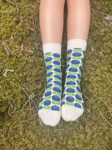 Floryd Blaubeer Socken Gr. 36-40
