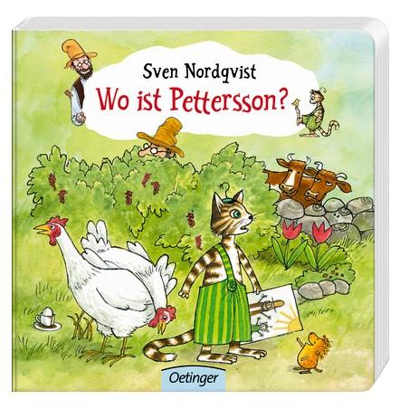 Wo ist Pettersson? Pappbilderbuch