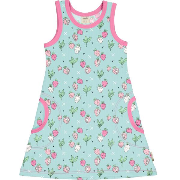 Jättefint Meyadey Kleid Ärmelos Strawberry Fields