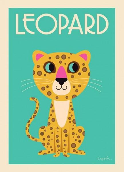 OMM Design Poster Leopard