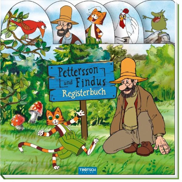 Buch - Petterson und Findus Registerbuch