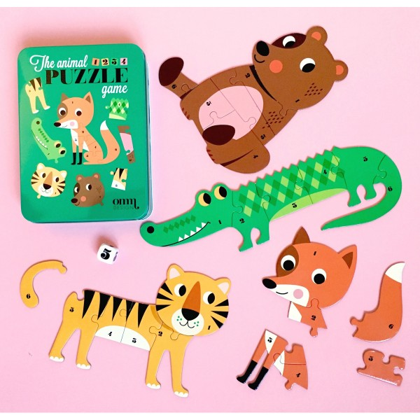 The Animal Puzzle Game