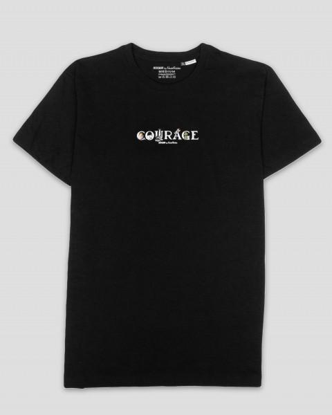 Nordic Buddies T-Shirt Courage Mumin schwarz