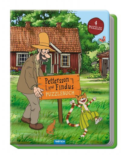 Buch - Petterson und Findus Puzzlebuch