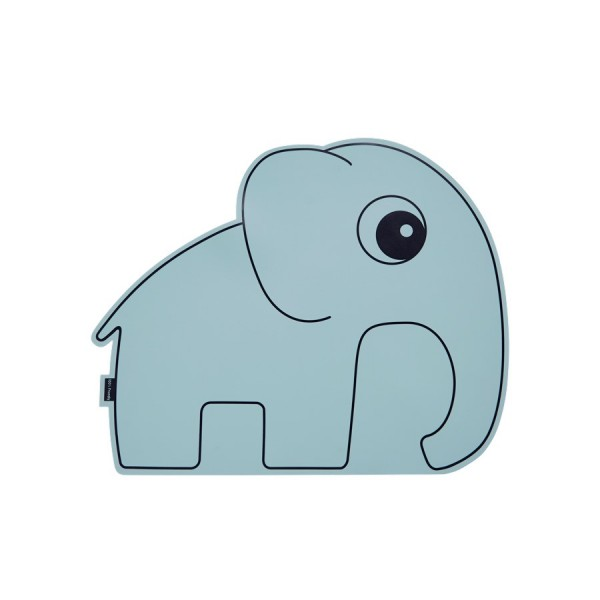 Done by Deer - Platzset Elefant Blau