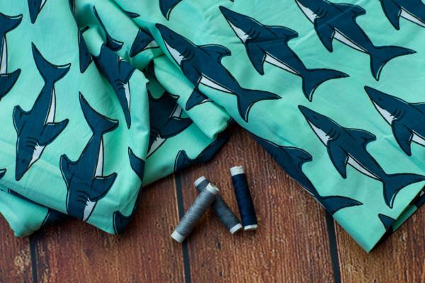 Maxomorra Stoff Sharks